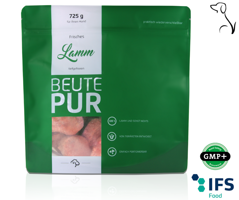 "Frostpaket BEUTEPUR Lamm 'single meat' ""Standardpaket"""