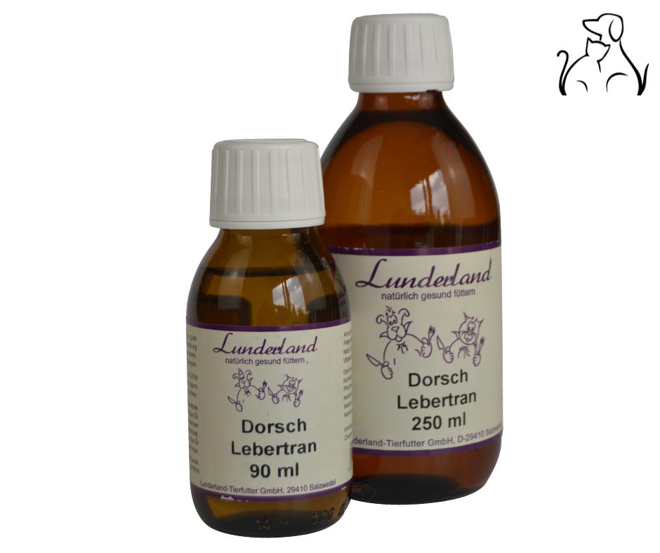 Lebertran (Dorsch) 250ml / Lunderland