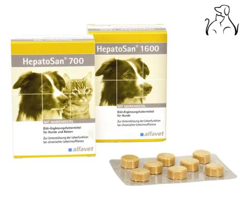 HepatoSan / Alfavet 700 und 1600