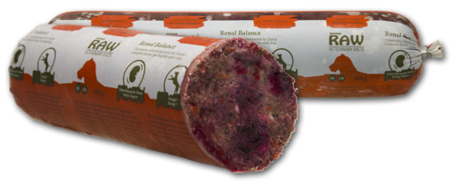 Raw Veterinary Diet 'Renal Balance' 10x450g